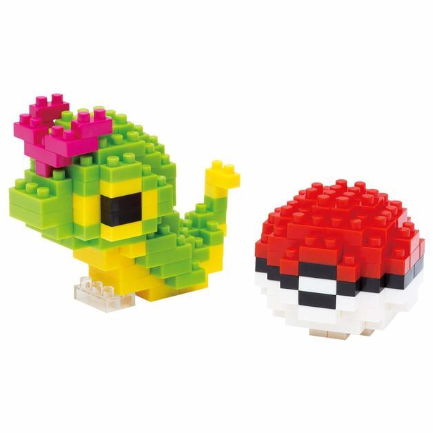 nanoblock: Pokemon - Caterpie & Pokeball