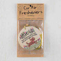Natural Life: Air Freshener - Love Is Excited Dog