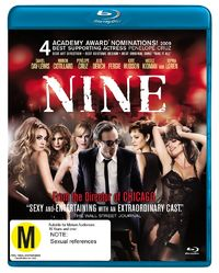 Nine on Blu-ray