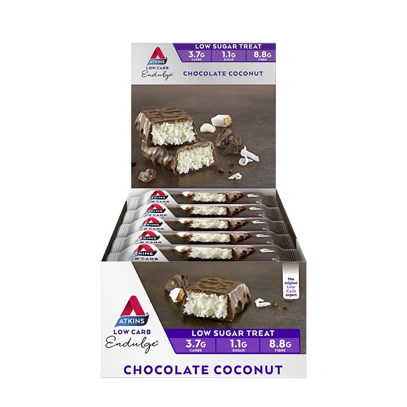 Atkins Endulge Bars - Chocolate Coconut (15 x 34g) image