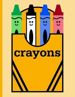 Box of Crayons for Coloring by Kidsspace