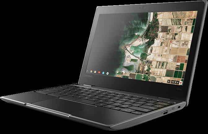 """11.6"""" Lenovo 100e G2 Celeron 4GB 32GB Chromebook image"""