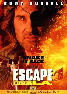 Escape From L.A. on DVD image