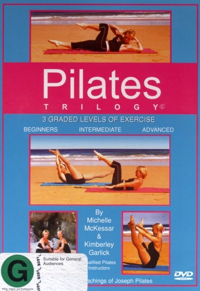 Pilates Trilogy (Beginners, Intermediate & Advanced) on DVD