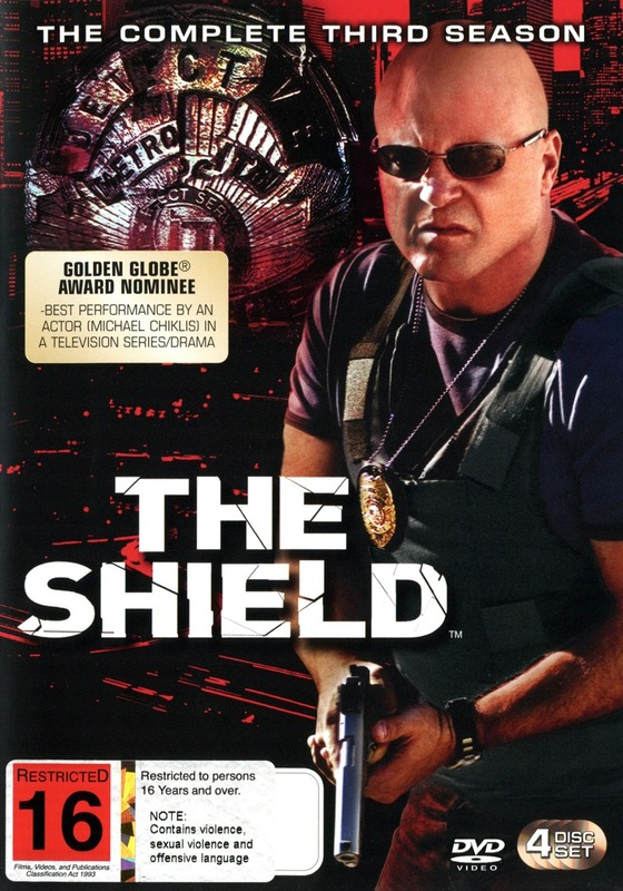 The Shield - Season 3 on DVD