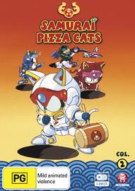 Samurai Pizza Cats - Col. 2 on DVD
