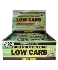 BSC High Protein Low Carb Bar - Choc Mint (8 Pack)