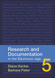 Research and Documentation in the Electronic Age by University Diana Hacker (Late of Prince George's Community College late of Prince George's Community College late of Prince George's Community College image