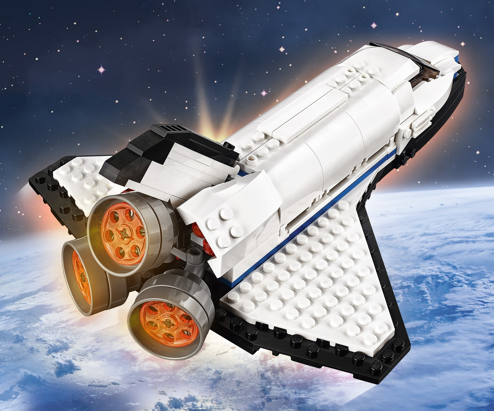 space shuttle explorer lego - photo #16
