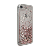 3SIXT PureGlitz Case for iPhone 8/7/6S/6 - Rose Gold/Silver