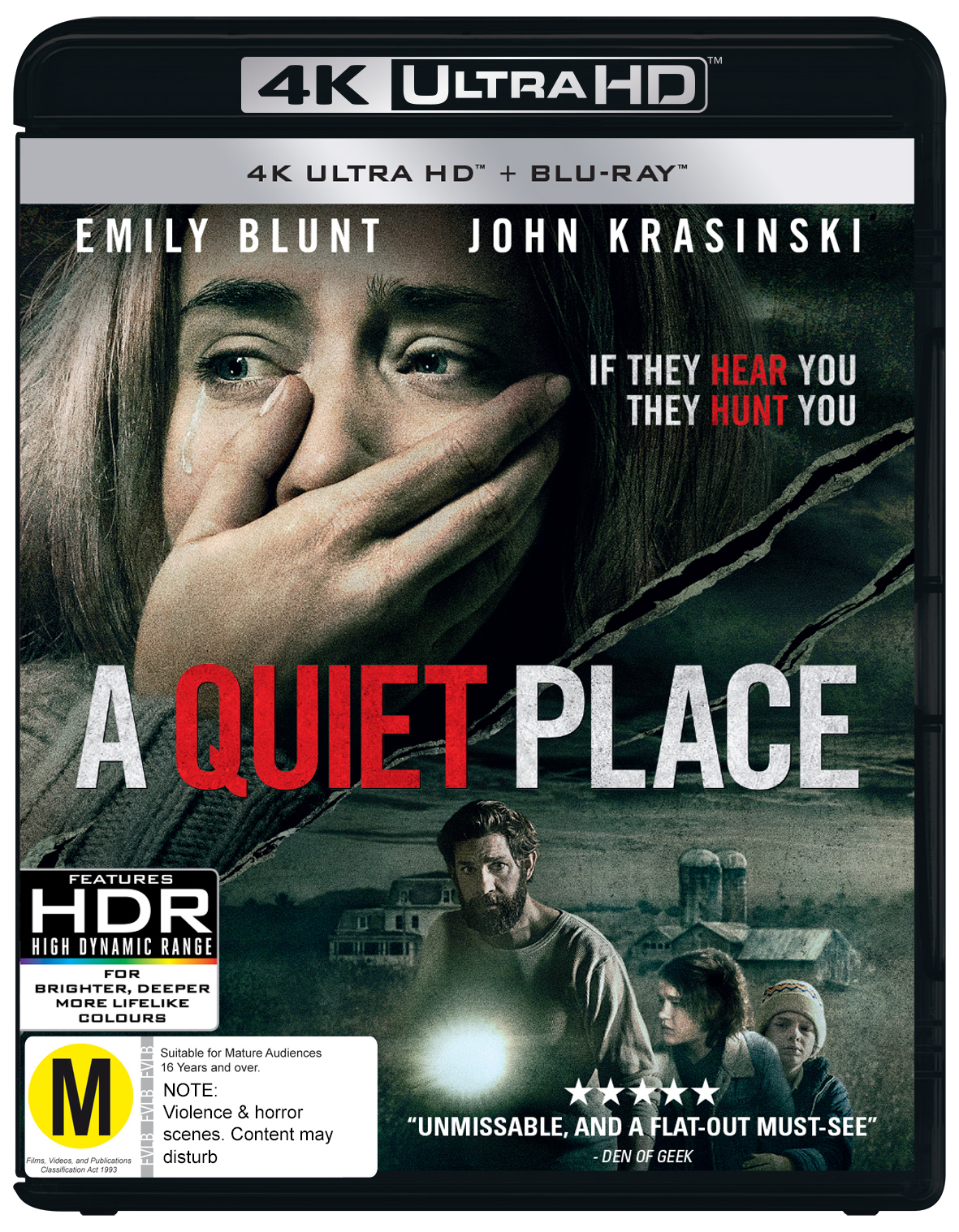 A Quiet Place on UHD Blu-ray image