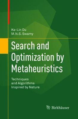 Search and Optimization by Metaheuristics by Ke-Lin Du