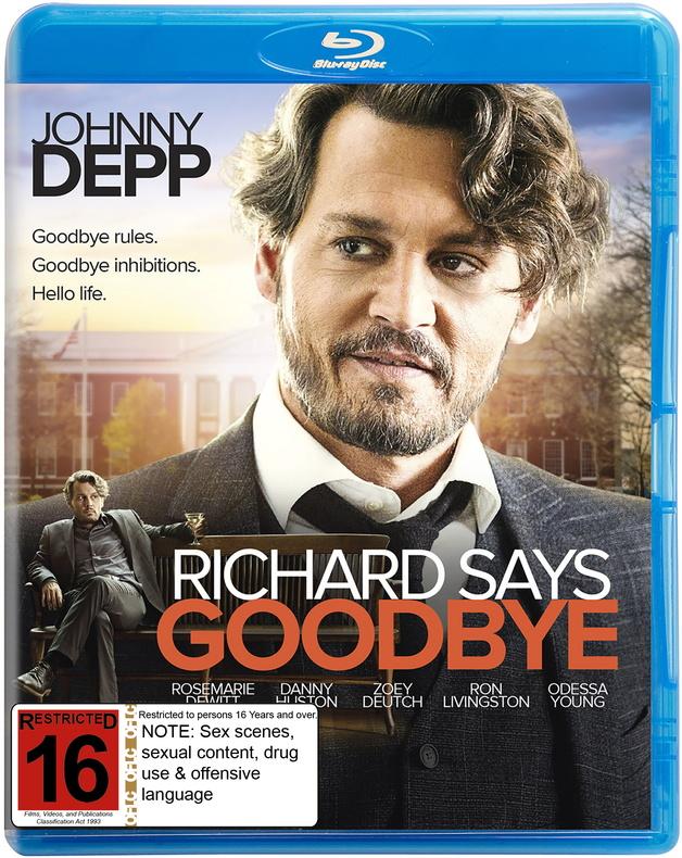 Richard Says Goodbye on Blu-ray