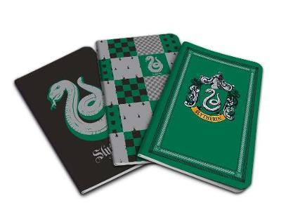 Harry Potter: Slytherin Pocket Notebook Collection (Set of 3) by Insight Editions
