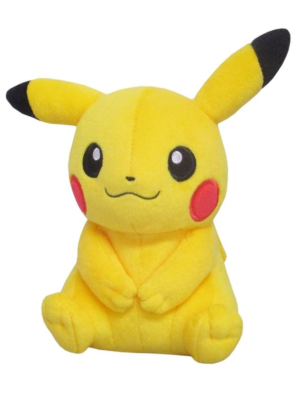 Pokemon: Pikachu (Female) - Small Plush