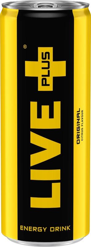 Live+ Energy Drink 250ml - Persist