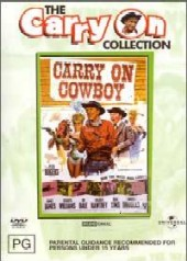 Carry On Cowboy on DVD