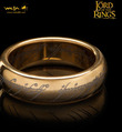 Lord of the Rings: The One Ring by Weta - Size R½, Gold Plated