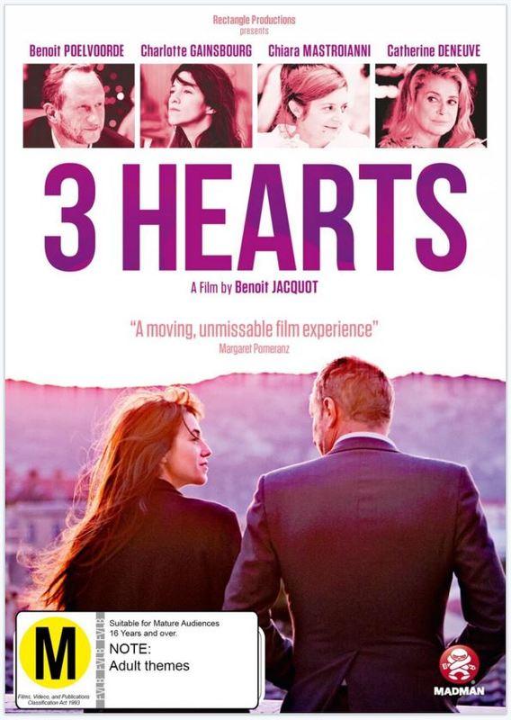 3 Hearts on DVD