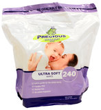Precious - Ultra Soft Wipes (240 Wipes)