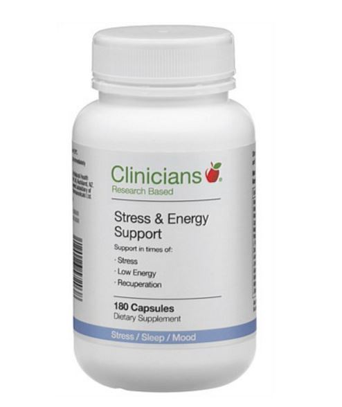 Clinicians Stress and Energy Support (180 Capsules) image