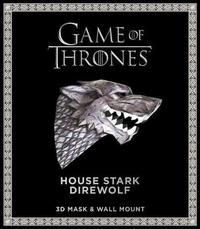 Game of Thrones Mask: House Stark Direwolf (3D Mask & Wall Mount) by Wintercroft