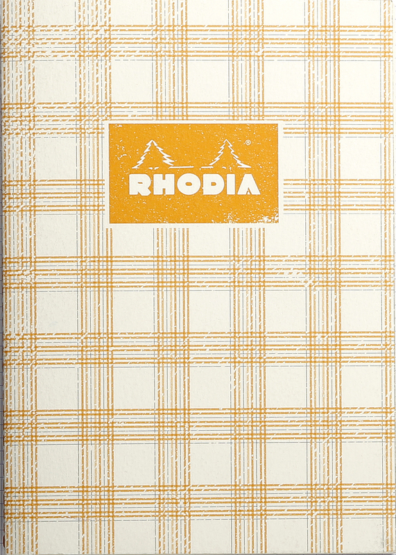 buy heritage a5 sewn spine notebook lined tartan ivory at mighty