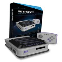 Hyperkin Retron 5 Gaming Console - Grey for  image
