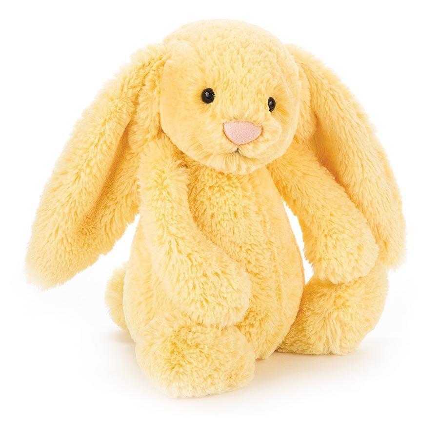 Jellycat: Bashful Lemon Bunny - Small Plush image