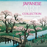 Graphique De France: Japanese Art Collection 2019 Square Wall Calendar