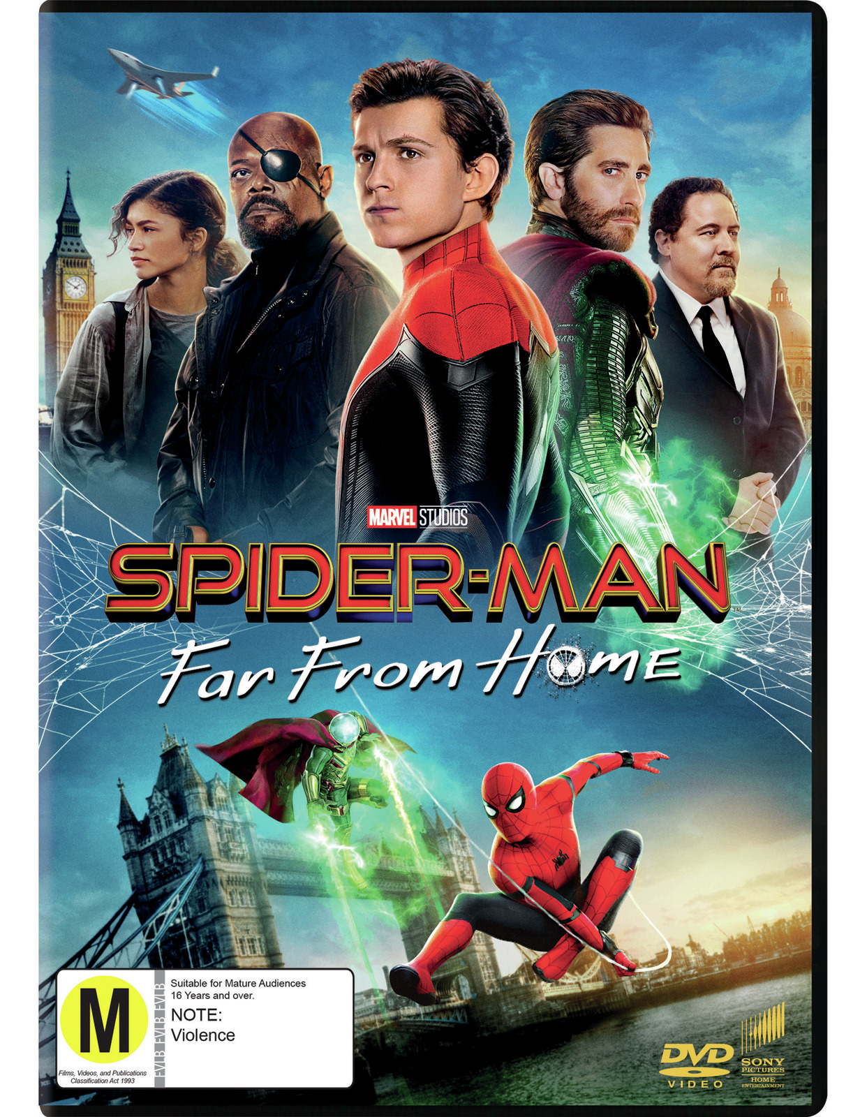 Spider-Man: Far From Home on DVD image