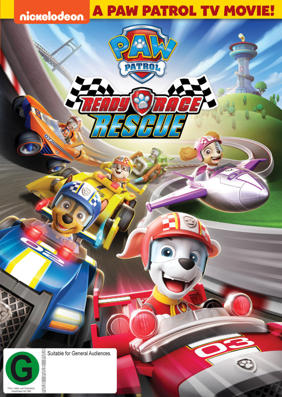 Paw Patrol: Ready, Race, Rescue on DVD