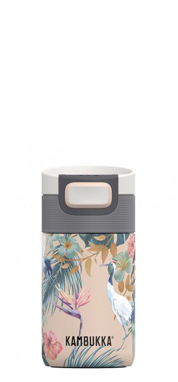 Kambukka: Etna 3-in-1 Snapclean Travel Mug - Paradise Flower (300ml)