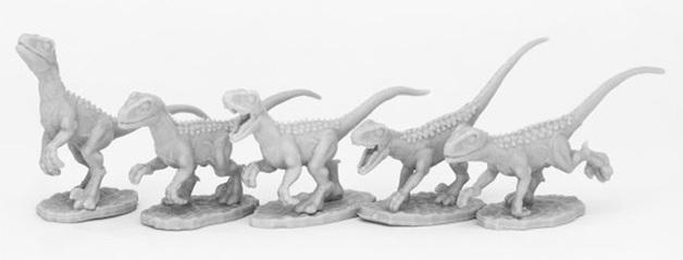Dark Heaven: Bones Black - Raptor Hunting Pack (5)