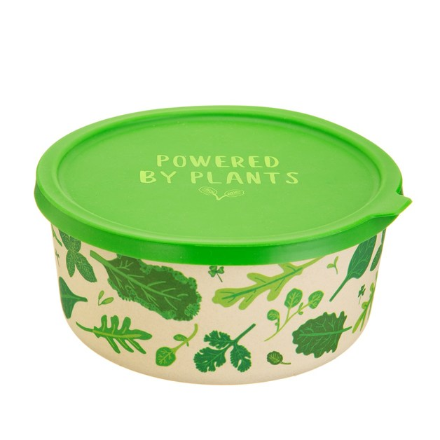 Sass & Belle: Powered by Plants Round Lunch Box