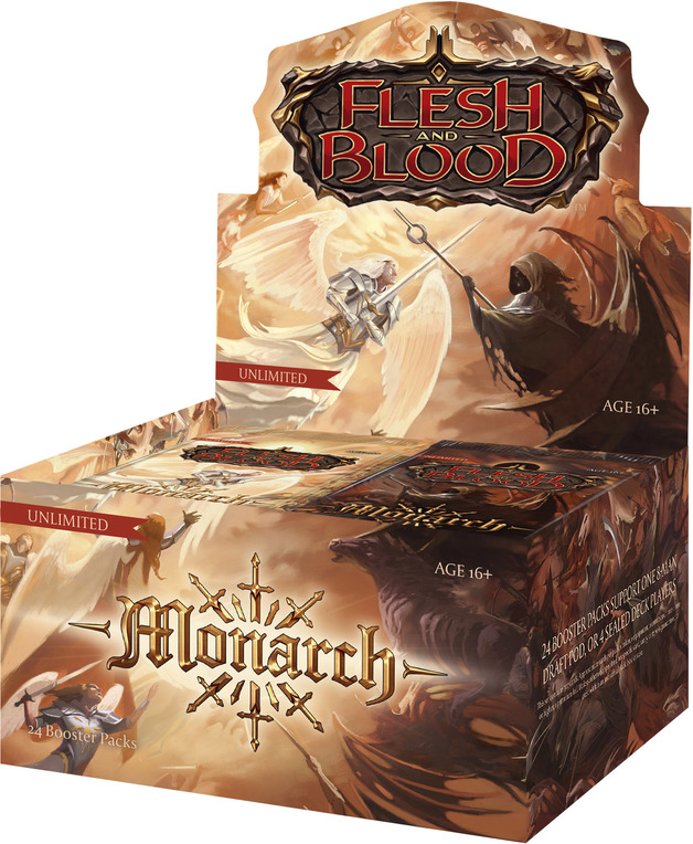 Flesh and Blood TCG: Monarch Booster Case (Unlimited Edition)