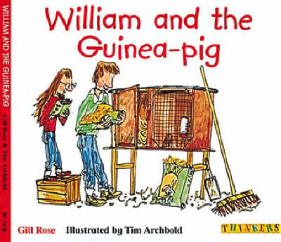 William and the Guinea-pig by Gill Rose image