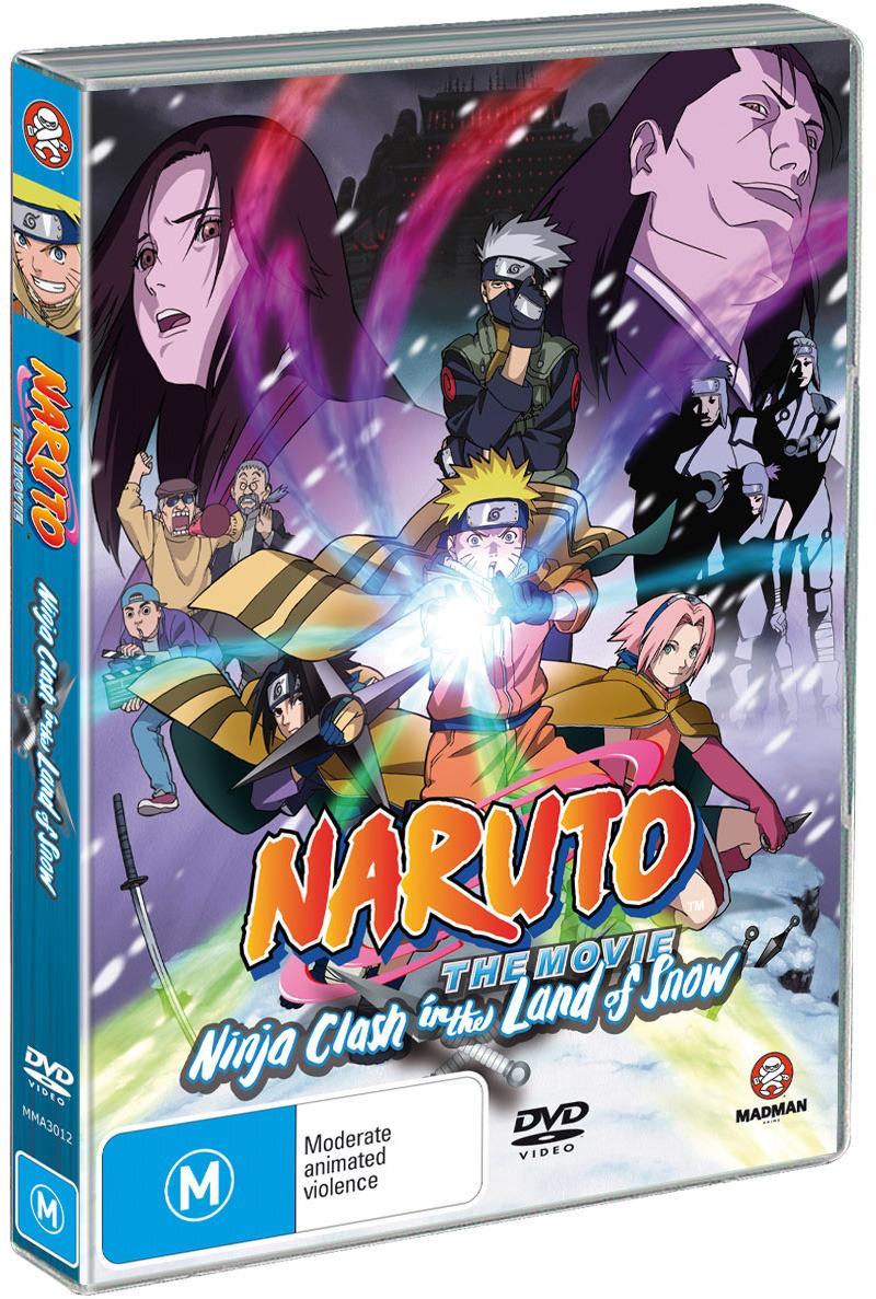 Naruto - The Movie 1: Ninja Clash in The Land of Snow on DVD image
