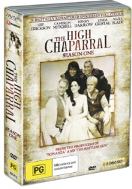 The High Chaparral - Season 1 on DVD