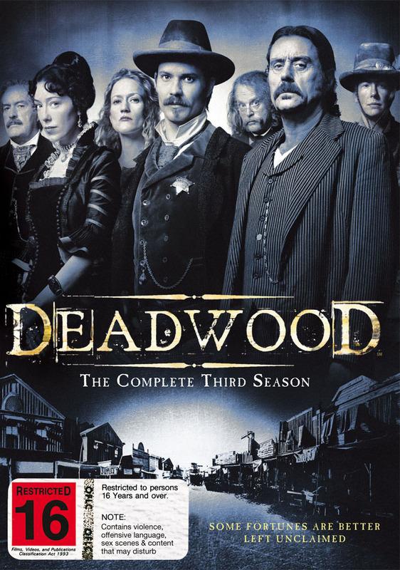 Deadwood - The Complete Third Season on DVD