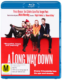 A Long Way Down on Blu-ray