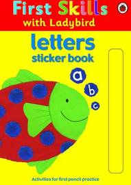 Letters Sticker Book image
