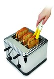 Zeal: Duck Toaster Tongs - White