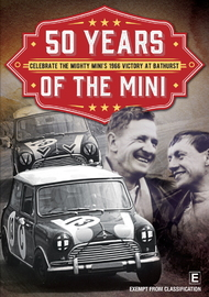 50 Years Of The Mini: Victory At Bathurst on DVD