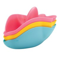 Ubbi Stack 'n Splash Bath Toy - Dolphin