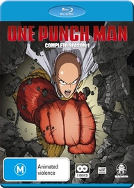 One Punch Man - The Complete Season 1 (2 Disc Set) on Blu-ray