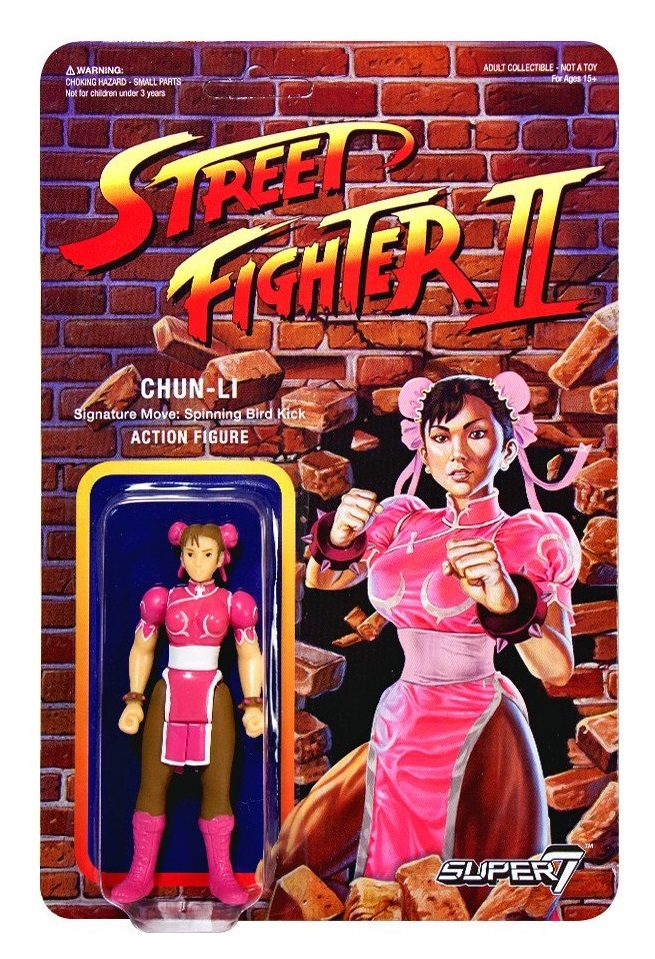 "Street Fighter II: Chun-Li - 3.75"" CE Retro Action Figure image"