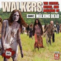 Walkers: the Eaters, Biters, and Roamers of the Walking Dead 2019 Wall Calendar by AMC