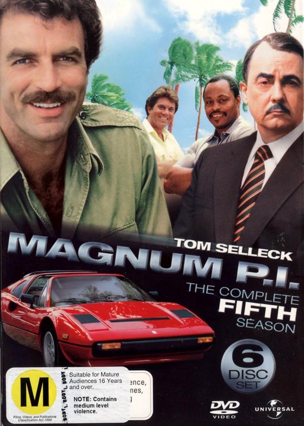 Magnum P.I. - Complete Season 5 (6 Disc Set) on DVD image