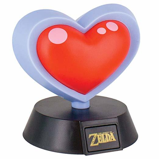 Legend of Zelda: 3D Light Heart Container 10 cm